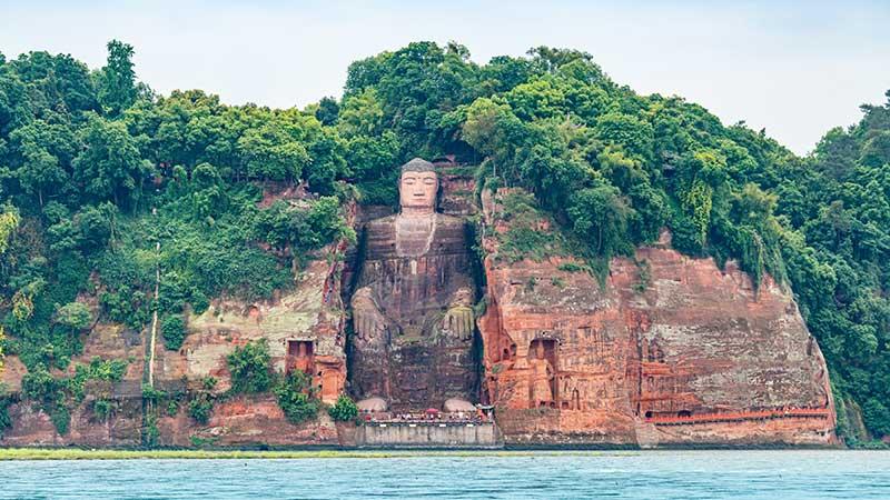 Buddhism In China Leshan Giant Buddha