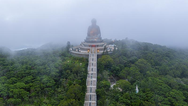 Buddhism In China Po Lin Monastery