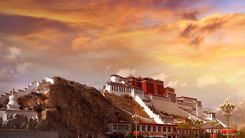 Buddhism In China White Potala Palace
