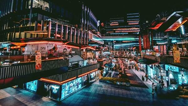 Xi'an China shopping