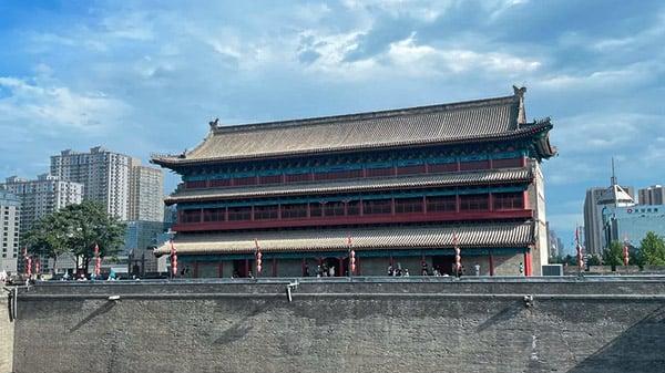 Xian China shopping
